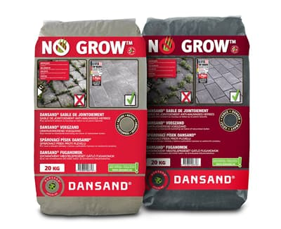 Onkruidwerend voegzand Fixs Dansand No Grow voegzand Natural Dark 213238 213239